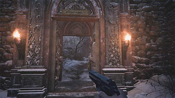 Resident Evil Village:  Решение Квеста с Воротами, Где Найти Герб с Демоном и Девой