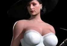 Леди Димитреску в Эротическом Бельё — Элегантный Мод Resident Evil Village
