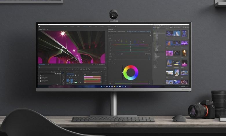 HP Envy 34 All-in-One Оснащен Широкоформатным Дисплеем 5K и Графическим Процессором RTX 3080