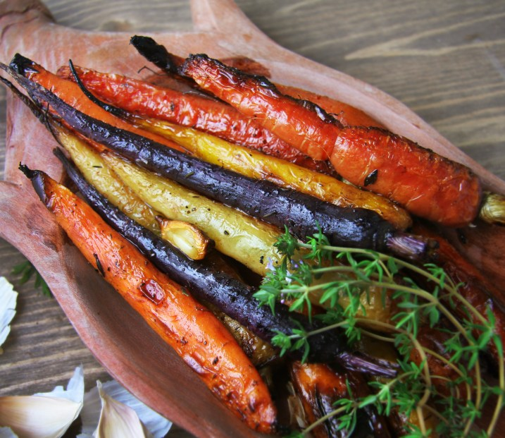 Whole Roasted Carrots 1