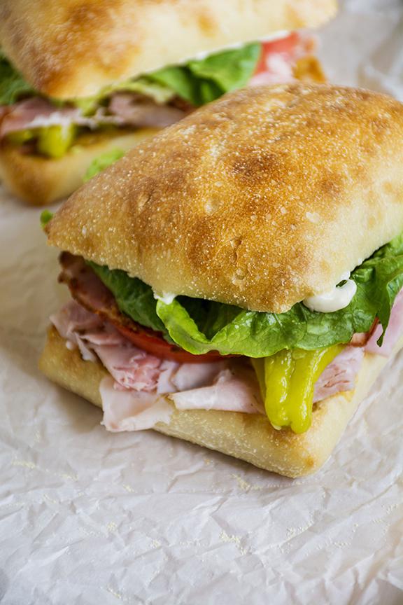 Italian Corner Deli Sandwich | No Cook Recipes With Refreshing Summer Flavors | Homemade Recipes