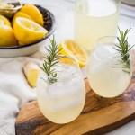 Naughty or Nice Ginger Lemonade