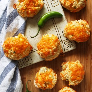 Jalapeno Cheddar Drop Biscuits