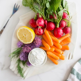 Light & Lemony Herb Dip