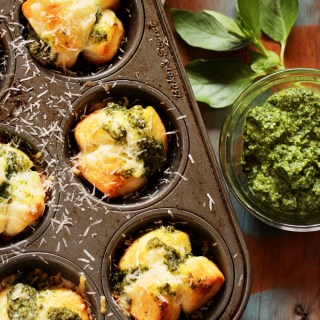 Cheesy Pesto Monkey Bread Rolls