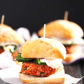 Salmon Burger Sliders