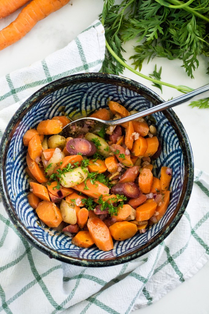 Garlicky Marinated Carrots