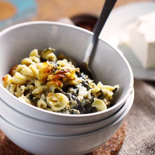 Spinach & Feta Mac N' Cheese