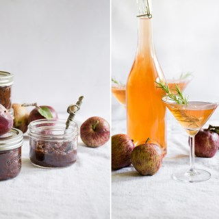Crabapple Two Ways: Slow Cooker Chutney & Icy Liqueur