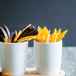 Perfect Candied Orange Peels