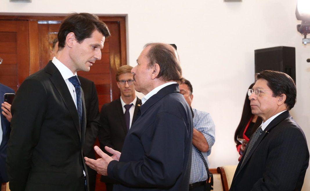 Daniel Ortega y Pelayo Castro, en una actividad