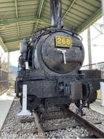 鳥栖駅に268号機関車を眺めに行った。