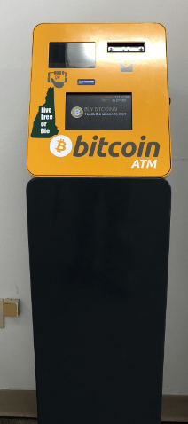 Bitcoin atm stand up