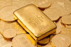 gold coin/bars