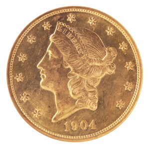 Gold piece 1904