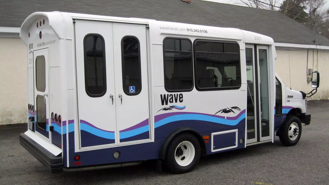 Wave Transit partial wrap