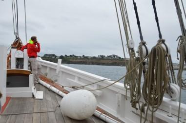 Navigation TOWT vers Brest