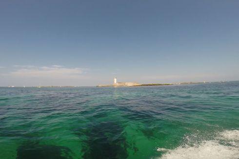 Arrivée dans l'archipel des Glénan