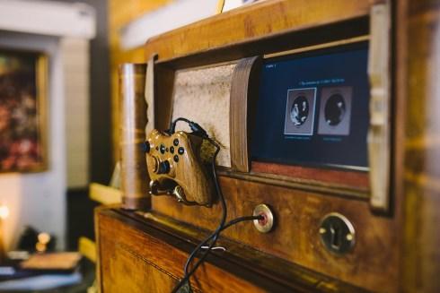 Console de jeu vintage par Stab