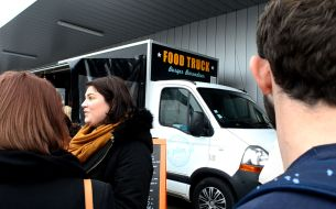 Le food truck Plan B lors du Binz Market 2015