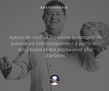 Bretonnerie compote La Cantine des Chefs