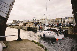 Départ du Port de Saint-Malo