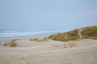Trekking photo reposant, sur les dunes de Tronoën