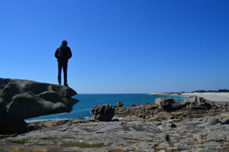 La plage du Goudoul dans le Finistère