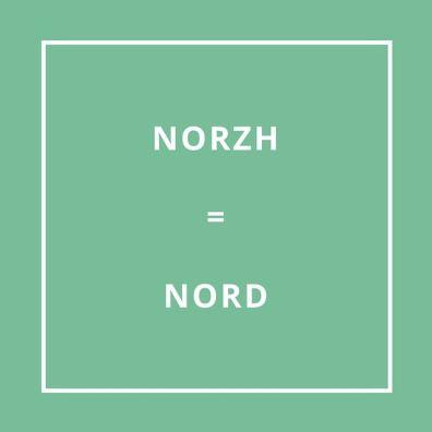 Traduction bretonne NORZH = NORD