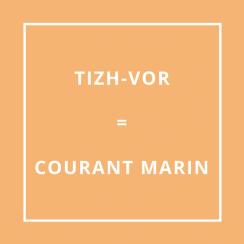 Traduction bretonne : TIZH-VOR = COURANT MARIN