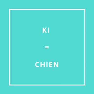 Traduction bretonne : KI = CHIEN