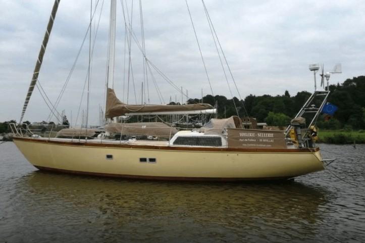 Nivillac (56) : un voilier dans son port d'attache