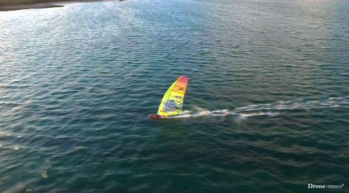 Survol du windsurf de Damien LE GUEN