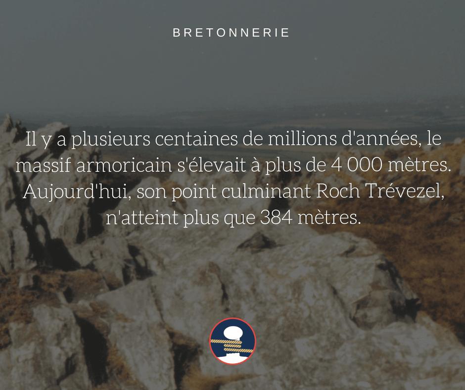 Bretonnerie : l'origine du massif Armoricain