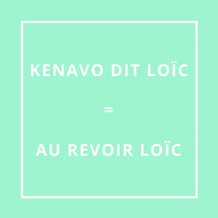 """""""Au revoir Loïc"""" en breton"""