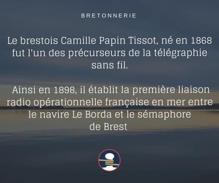 La TSF par Camille Papin Tissot