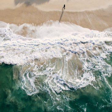 La robustesse de la mer en une image