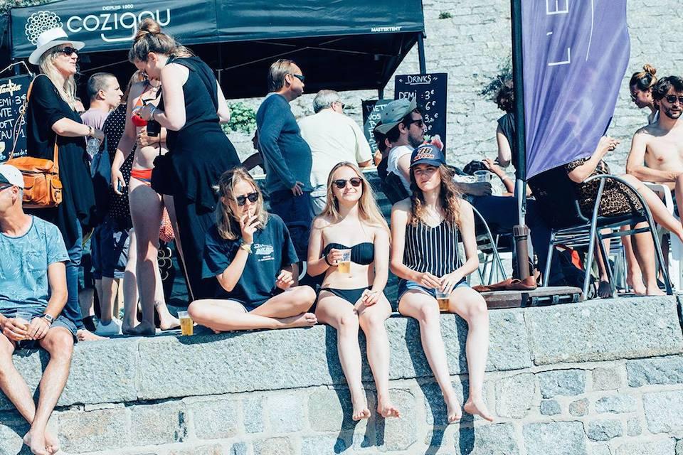 La plage de Bon-Secours séduit encore plus pendant La Route du Rock