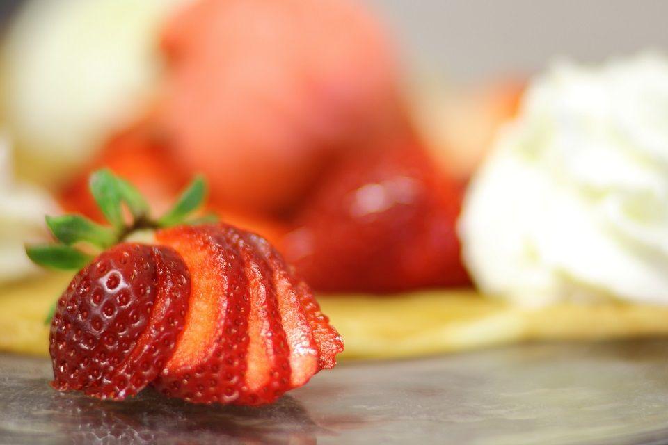 La fraise en dessert, c'est toujours une bonne idée !