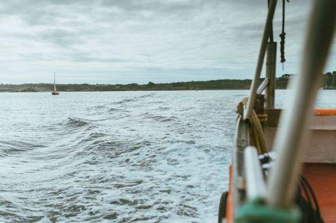 L'appel du large avant une session de plongée sous-marine