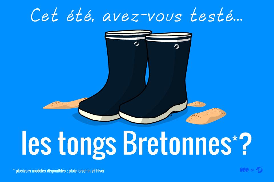 Les Tongs Bretonnes - Clichés