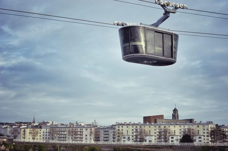 Le téléphérique de Brest : premier téléphérique urbain de France