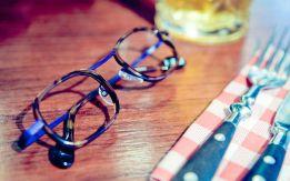 Exemple de monture de lunettes de la marque nantaise Naoned Eyewear