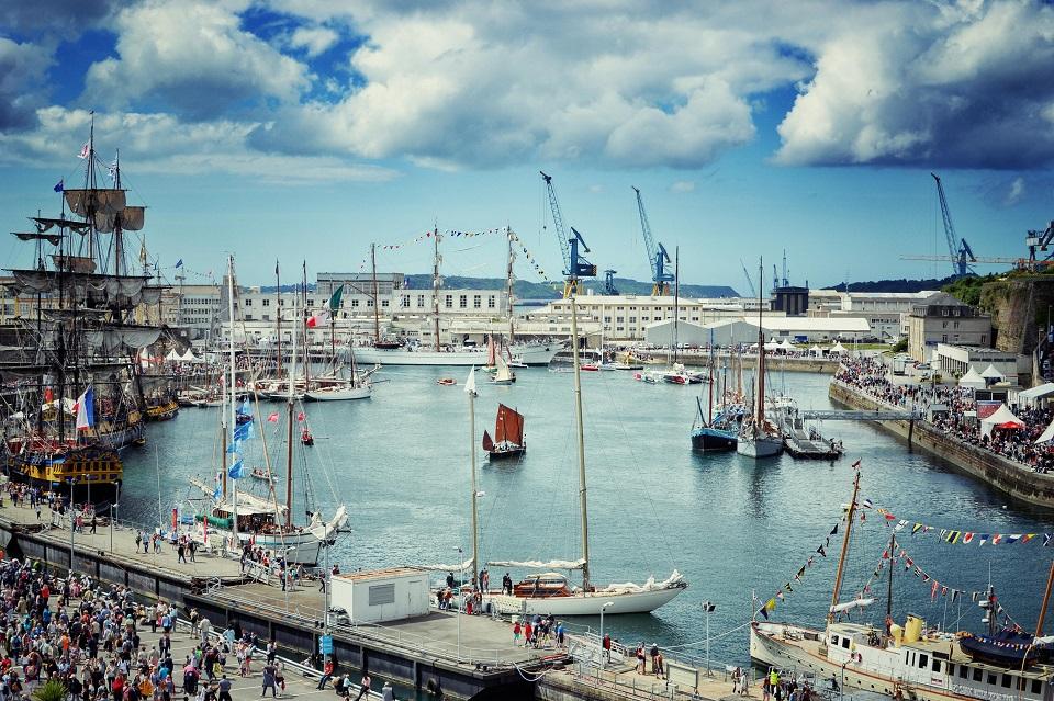 Les fêtes maritimes à Brest : un incontournable à faire sur Brest