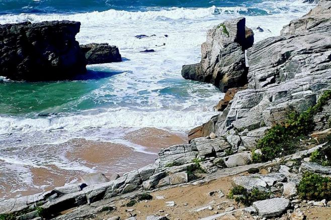 Plage de la côte sauvage de Quiberon