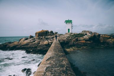 le phare de la pointe de Trévignon et ses environs