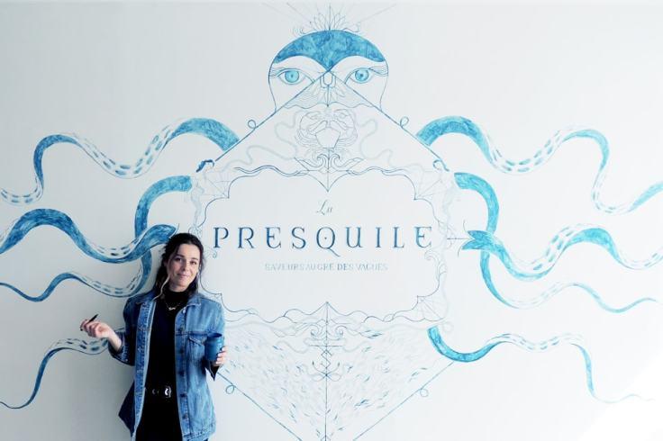 Fresque Quiberon
