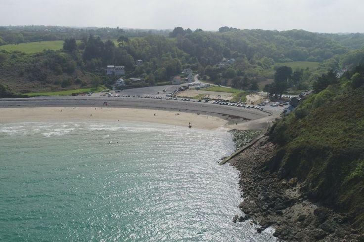 La plage du Palus (22), fief du Seanapse Festival