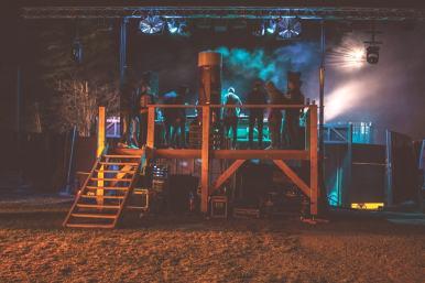 Aperçu de l'arrière de la scène Tribord du Seanapse Festival.