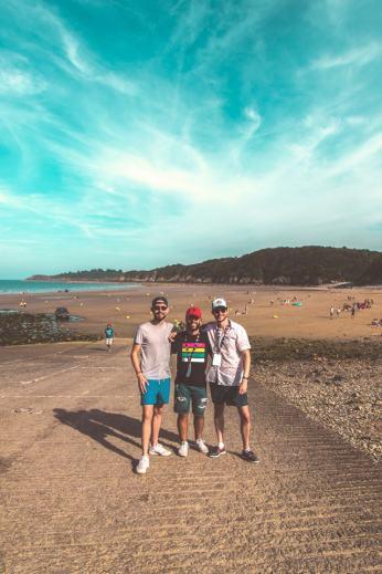 La Team Port d'Attache avec Alex, l'un des organisateurs du Seanapse Festival !